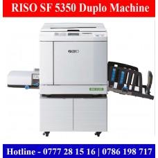 RISO SF 5350 A3 Duplo Machines sale Colombo, Sri Lanka | Duplo Deaelers