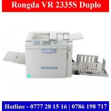 Rongda VR 2335S Duplo Machines sale Price in Sri Lanka